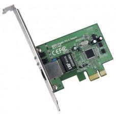 Cетевая карта LAN - PCI-Express 1 TP-LINK TG-3468 32-bit Gigabit PCIe Networks Adapter, Realtek RTL8168B, 10/100/1000Mbps Auto-Negotiation RJ45 port, Auto MDI/MDIX