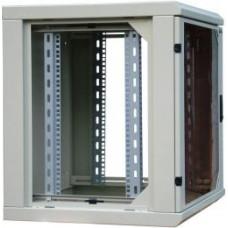 """Шкаф SIGNAPRO RECW-095АВ 19"""" 9U 600х500 мм двухсекционный со съёмными боковыми стенками"""