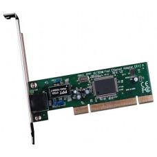 Cетевая карта WiFi - PCI TP-LINK TF-3200 Ethernet PCI, 10/100 Мбит/с сетевой адаптер PCI, Поддержка стандарта управления потоком IEEE 802.3x Flow control для полнодуплексного режима Full Duplex