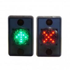 Мнемосхема MNEMO-KZ красный крест/зеленая стрелка