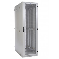 Открытая металическая серверная стойка двойная 42U 600х1000 мм,цвет-серый RAL7035