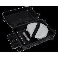 Муфта оптическая тупиковая SNR-FOSC-M