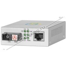 Медиаконвертер 10/100-Base-T / 100Base-FX, Tx/Rx: 1310/1550нм, SNR-CVT-100A-V2