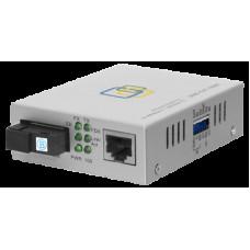 Медиаконвертер 10/100-Base-T / 100Base-FX, Tx/Rx: 1550/1310нм, SNR-CVT-100B-V2