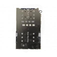 Коннектор SAMSUNG SIM+MMC G930F