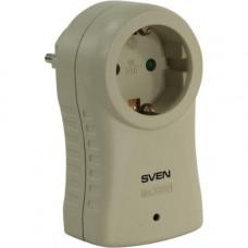 Cетевой фильтр SVEN SF-S1 1 sock. gray сетевой фильтр, 220В, 1 розеток, до 6 KV, макс. нагрузка до 10А .