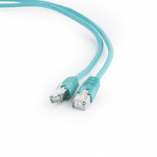 Патч-корд FTP Cat6 Patch cord, green, 0.5 m