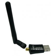 Cетевой адаптер USB - WiFi с антенной WD-311 300Mbps