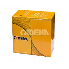 Кабель CADENA FTP4-CAT5e 24 AWG BLACK для компьютерных сетей медный с тросом, внешний, черный, 305 м