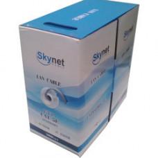 Кабель SKYNET UTP2-CAT5e 24 AWG LIGHT GREY для компьютерных сетей, медный, внутренний, серый, 305 м