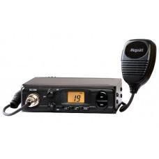 Радиостанция AUTO MEGAJET MJ-300 Диапазон частот, МГц 26,965…27,855 МГц. Количество частотных каналов 135R+135E. Выходная мощность передатчика, Вт до 8. Чувствительность, мкВ с/ш АМ 0.5 10дБ, ЧМ 0.3 12дБ. Вид модуляции  AM/FM. Напряжение питания, В