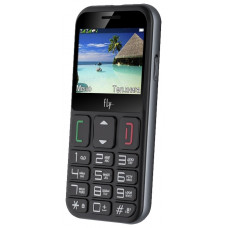 Мобильный телефон FLY EZZY 9 BLACK GSM 900/1800, 2SIM, QVGA, 2,3 дюйма, Камера, MP3, WAV, FM radio, BLUETOOTH 2.1, фонарик, слот карты памяти до 16Гб. 1500mAh