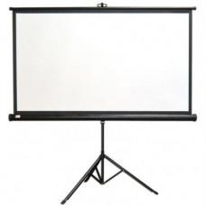Экран на штативе CLASSIC CRUX1:1 220x220 T 213x213/1 MW-S0/B экран