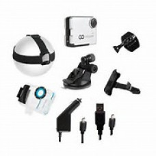 Комплект аксессуаров для экшен-камер GOCLEVER DVR EXTREME SILVER & GOLD