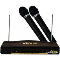 Комплект RITMIX RWM-220 из 2-х беспроводных микрофонов