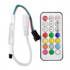 Контроллер WS2811 21Key DC5V LED 63 Видов эффекты