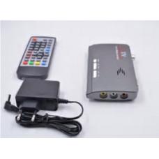 Приёмник для цифрового эфирного телевидения DVB-T2 VGA HDMI USB AV-out