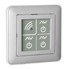 Пульт дистанционного управления PU 311-1, белый Ноолайт  PU 311 — трехканальный пульт, который позволяет дистанционно включать, выключать освещение и регулировать его яркость в трех независимых каналах.Регулировка яркости меняет направление при каждо