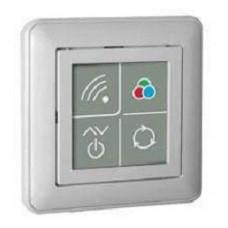 Пульт дистанционного управления PU 112-1, бежевый Ноолайт одноканальный пульт, специально предназначенный для RGB светодиодного контроллера SD111-180. Пульт позволяет управлять включением/выключением и яркостью светодиодной ленты, выбирать цвет и упр