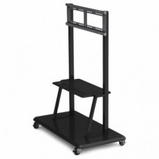 Напольная подставка для PRESTIGIO PMBST01 Multiboard stand ST01, совместима с интерактивными панелями 42-70'' , полка для аксессуаров, колеса для регулировки положения с тормозными механизмами. PMBST01