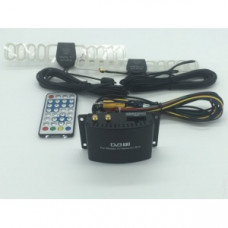 Приёмник для цифрового эфирного телевидения DVB-T2 FarCar DVB-T2 Чипсет SIANO SMS 4470, Питание 6-24 Вольт. ИК пульт.  Воспроизведение медиа файлов с USB носителей. HDMI выход . Обновление ПО через USB. AUX выход