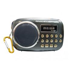 Радиоприемник MEIER M-U88BT сетевой USB,BLUETOOTH