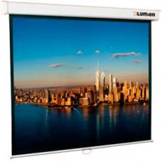 Экран настенный LUMIEN LMP-100111 274x206 Lumien Master Picture настенный, Matter WHITE FiberGlass белый корпус, черная кайма по периметру, возможность настенного/потолочного крепления
