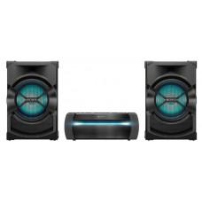 Музыкальный центр SONY SHAKE-X10D Мощная домашняя аудиосистема со встроенным проигрывателем DVD, технологией Sound Pressure Horn, LDAC, функциями караоке и DJ-эффектами.