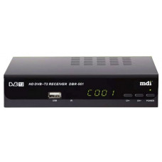 Приёмник для цифрового эфирного телевидения DVB-T2 MDI DBR-901 MDI DBR-901