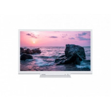 "Телевизор LCD 32"" TOSHIBA 32W3754DG БЕЛЫЙ SMART TV OPERA PORTAL, 81 см, HD Ready 1366х768, Цифровой тюнер: DVB-T/C/T2/S/S2, CI+ COMMON INTERFACE, USB-плейер, Звук: 2х6 Вт, HDMI х2, VGA   12 МЕCЯЦЕВ"