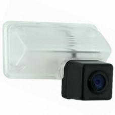 Камера в штатное место BLACKVIEW IC-036 Toyota Camry 2012- Видеосенсор OmniVision OV7070. Угол обзора 170°. Эффективное разрешение 648х488. Минимальная освещенность 0.2 Lux. Рабочее напряжение 9-16 Вольт. Разметка не отключаемая.
