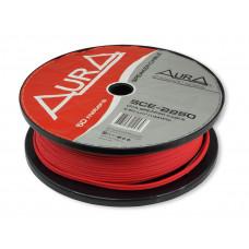 Кабель/провод акустический AURA SCE-2250 Mkll 2x2.5 Cечение — 2×2.5mm 14AWG. Проводник — омедненный алюминий CCA.Бухта — 75 м.