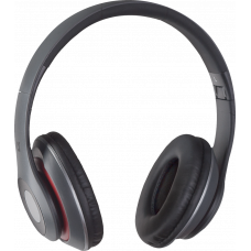 Беспроводная гарнитура FreeMotion B570 красный-серый, BLUETOOTH Беспроводная BLUETOOTH-гарнитура, Встроенный микрофон ,Cлот для карты MicroSD, Встроенный FM-приемник ,Клавиши управления на наушниках, Радиус действия - 10 м, Время работы аккумулятора