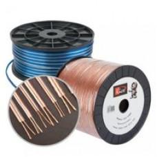 Акустический кабель  Kicx SC-12100 12GA, диаметр жилы 2,05 мм, площадь 3,31 кв.мм