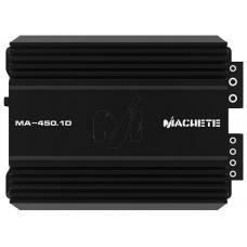Усилитель одноканальный Alphard Machette MA-450.1D 1 канальный, класс D. Мощность RMS в 1 Ом 14.4 В 450 Вт. Диапазон частот 20-250 Гц. Размеры ДxШxВ  217x159x59,5 мм