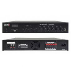 Микшер-усилитель настольный трансляционный  ALT-35BT 100В, 35 Вт, 3 зоны, MP3, FM, BLUETOOTH