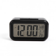 ЧАCЫ-БУДИЛЬНИК EC-137B Cигнал Компактные и стильные электронные часы с мягкой подсветкой дисплея. Работают в двух режимах: часы и будильник. Показывают дату и температуру воздуха
