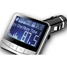 Авто FM модулятор ACV FMT-122 Ж-К диспл/USB/AUX/SD/MMC/MP3/WMA/206 кан/зарядка 5В/Пульт ДУ