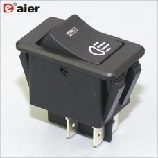 Авто сирена выключатель клавишн. с подсветк. ASW-17D PRK0040