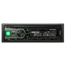Автомагнитола ALPINE CDE-181R USB,IPOD,IPHONE ЗЕЛЕН подс