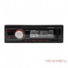 Автомагнитола 1DIN AVATAR HBR-1402 Универсальная. Высокочувствительный радио-тюнер. Память на 12 FM радиостанций. USB, SD для воспроизведения MP3.   Выходная мощность 4х50W. Аудиовход AUX на передней панели. Красная подсветка.