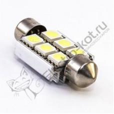 """Cветодиодная лампа C5W SMD 5050  """"39"""""""