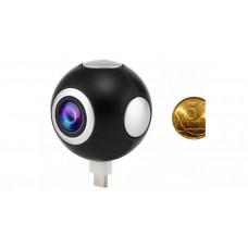 Авто видеорегистратор CARCAM KAM-361 панорамная Wi-Fi камера для смартфонов. Камера подключается к смартфону через micro USB интерфейс и ведет качественную... Auto