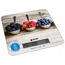 Весы кухонныеVITEK VT-2429 5кг., индикация температуры, индикация батарейки, автовыключение