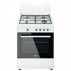 Плита SIMFER F 66GW41002 Газовая духовка , Электроподжиг , Размер ВхШхГ 85х60х60  |12 месяца
