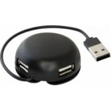 USB разветвитель DEFENDER QUADRO  Light USB 2.0, 4 порта 83201