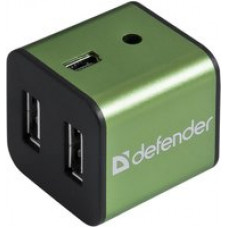 USB-разветвитель USB QUADRO IRON USB2.0, 4 порта, метал. корпус  83506