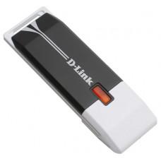 Cетевой адаптер WiFi - USB D-LINK DWA-140 RangeBooster N, USB2.0, 802.11b/g, 2,4 ГГц, до 300 Мбит/с
