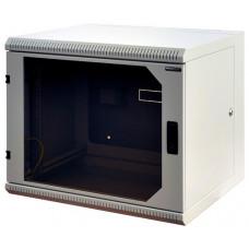 """Шкаф Signapro RECW-125H 19"""" 12U 635х600х520 мм трехсекционный усиленный"""