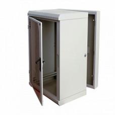 """Шкаф Signapro RECW-155H 19"""" 15U 770х600х520 мм трехсекционный усиленный"""